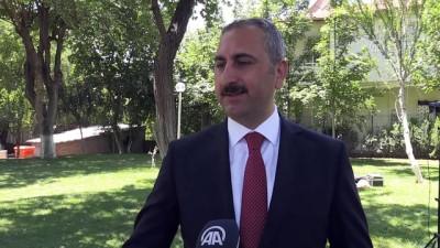 Adalet Bakanı Gül: 'Anadolu Ajansı kendini ispat etmiş bir kurumdur' - GAZİANTEP
