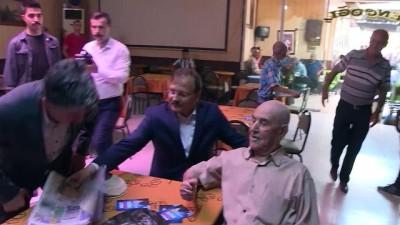 Başbakan Yardımcısı Çavuşoğlu: 'İman aşkıyla kavrulan yürekler yorulmaz' - BURSA