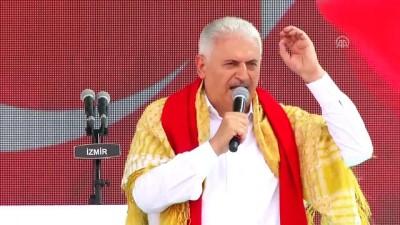 Başbakan Yıldırım, Yörük Şöleni'ne katıldı  - İZMİR
