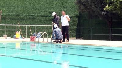 Diyarbakırlılar 'halk havuzu'nda serinleyecek