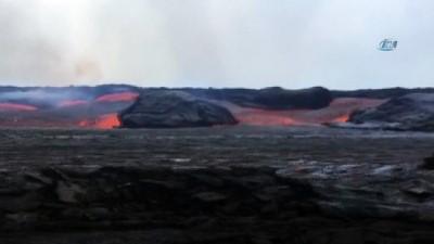- Havai'deki Kilauea Yanardağının Görüntüleri Dehşet Uyandırdı