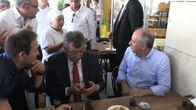 cumhurbaskani - İnce'ye Ankara mitingi öncesi komşu desteği - ANKARA