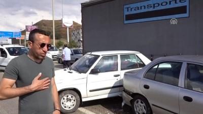 Kırıkkale'de zincirleme trafik kazası: 11 yaralı