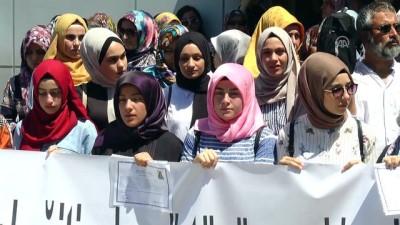 KKTC'de başörtülü öğrencilere diplomalarının verilmemesi - LEFKOŞA
