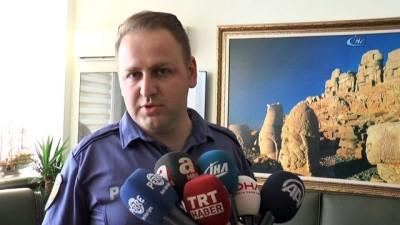 Kuşa kalp masajı yapan polise üstün başarı belgesi