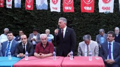 """MHP Genel Sekreteri İsmet Büyükataman: """"Bu seçim sonuçlarını oldu bittiye getirmeye, hatta bir dış müdahaleye zemin oluşturmaya çalışanlar var"""""""