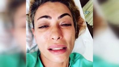 Tayland'da sivri sineğin ısırıp hasta ettiği oyuncu Leyla Bilginel İstanbul'a getirildi Haberi