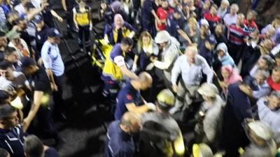 6.5 saat sonra madendeki göçükten sağ çıktılar