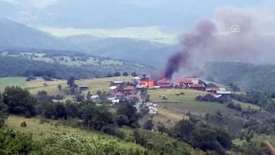 Azdavay'da yangın - KASTAMONU