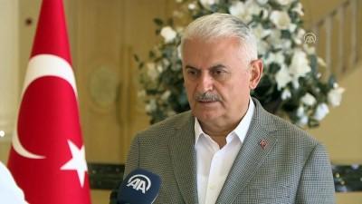 Başbakan Yıldırım: 'Demokratik bir olgunluk içerisinde, bir şölen havasında kardeşlik, huzur ve güven içerisinde bu seçimleri de gerçekleştirmiş olacağız' -İZMİR