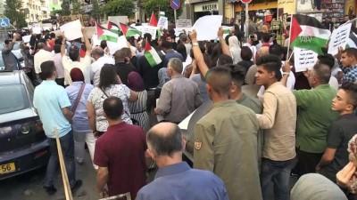 isgal - Batı Şeria'da Gazze'ye destek yürüyüşü - RAMALLAH