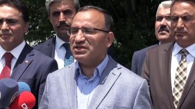 Bozdağ: 'Türkiye'de seçim sonuçları üzerine gölge düşürmek isteyenlerin tamamı yalan söylüyorlar' - YOZGAT