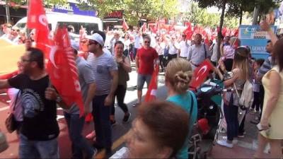 cumhurbaskani -  CHP Manisa Teşkilatı yürüyüş yaptı
