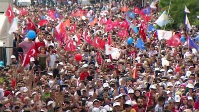 Cumhurbaşkanı Erdoğan: 'Korkaklar zafer anıtı dikemez. Eğer parlamento diyorsan, sen de gel parlamentoya ama nasıl gelsin, Selo neyse onlar da o.' - İSTANBUL