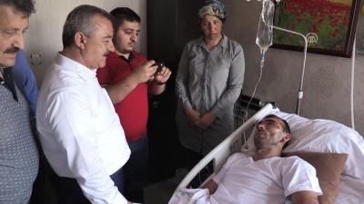 Göçükten kurtulan maden işçisi Recep Yurtseven - ZONGULDAK