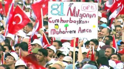 İnce'nin İstanbul mitingi başladı