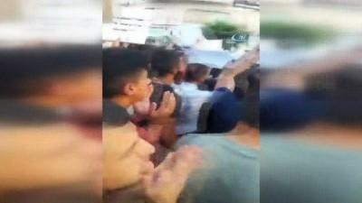 - Ramallah'ta hükümet yaptırımlarına karşı protesto