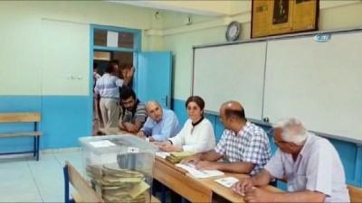Afrin kahramanları oy kullandı