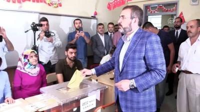 AK Parti Parti Sözcüsü Ünal: 'Milletimizin kararı bizim başımız gözümüz üzerinedir' - KAHRAMANMARAŞ