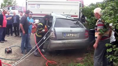 Kaza anne babayı çocuklarından ayırdı - DÜZCE