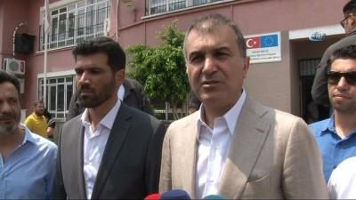 Ömer Çelik, oyunu Adana'da kullandı