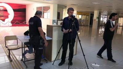 Oy çuvalları kamerayla kayıt altına alındı - EDİRNE