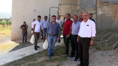 Oy pusulaları askeri helikopterle taşındı - SİİRT