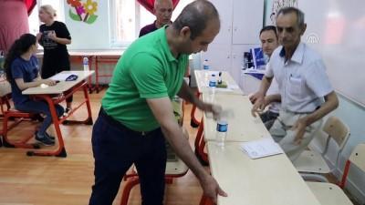 Oy verme işlemi sona erdi - ADANA