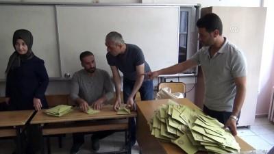 Oy verme işlemi sona erdi - BİNGÖL/DİYARBAKIR