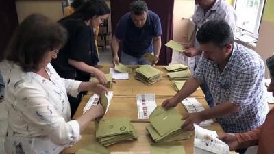 Oy verme işlemi sona erdi - DÜZCE/KARABÜK/SAKARYA