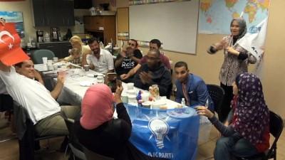 ABD'deki Ak Parti kutlamalarına Suriyelilerde katıldı