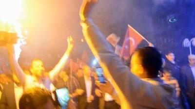 AK Parti'nin zaferi Şuhut'ta coşku ile kutlandı