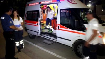 Darp edilen kişi hastaneye kaldırıldı - ADANA Video