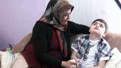 Engelli oğlu ona hayatla mücadeleyi öğretti - KARAMAN