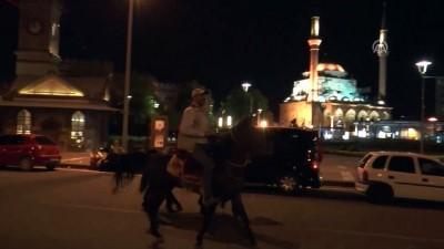 Seçim kutlamalarına atlarıyla katıldılar - KAYSERİ