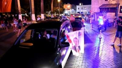 Seçim sonuçlarını kutlayan vatandaşlara hakaret eden kişi gözaltına alındı - MUĞLA