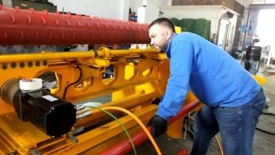 Balıkesirli iş adamı Cezayir'e makine ihraç etti