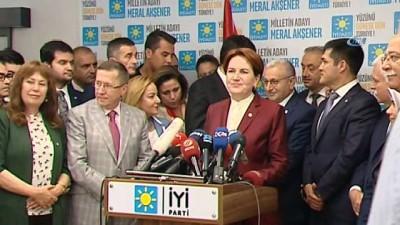 Meral Akşener'den seçim sonrası açıklama
