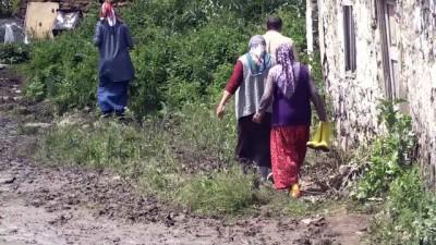 Selden etkilenen köylerde hasar tespit çalışmaları sürüyor - KARS