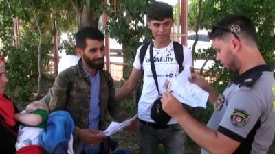 Suriyelilerin bayram sonrası Türkiye'ye dönüşleri başladı - KİLİS