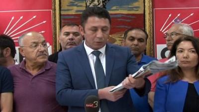 CHP İl Başkanı Erdoğan: 'Sorumlu siyaset anlayışı gereği, kaybedenlerin bizler de dahil olmak üzere koltuklarını bırakmaları gerektiğini düşünüyoruz'