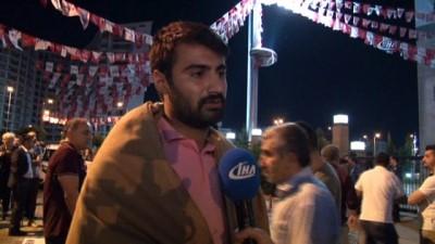 CHP'lilerin Genel Merkez önündeki eylemi sürüyor