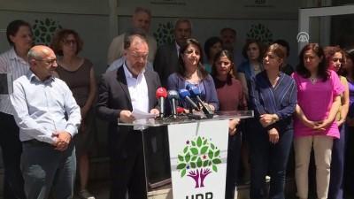 HDP Eş Genel Başkanı Temelli: 'HDP üçüncü parti olmuştur' - ANKARA