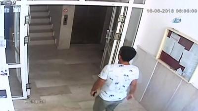 Hırsızı kolundaki kadın dövmesi ele verdi...Kablo hırsızı kamerada