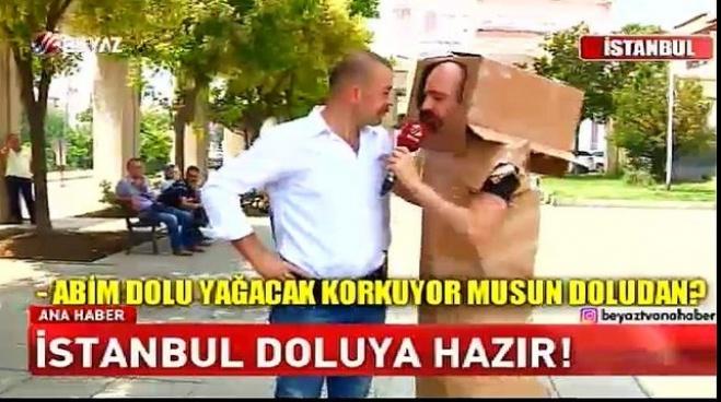 istanbul b - İstanbul dolu yağışına hazır!