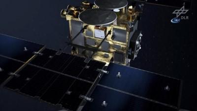 - Japonya'nın Hayabusa 2 uzay aracı kozmik 'elmasa' ulaştı