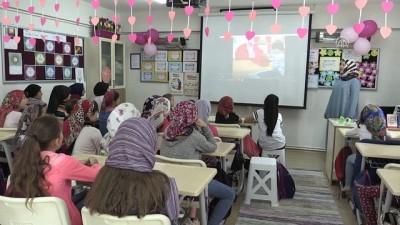 Öğrencilere yaz Kuran kursunda çizgi filmli eğitim - EDİRNE