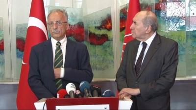 Öymen ve Karayalçın Kılıçdaroğlu'nu ziyaret etti