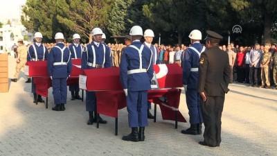 Şehitler için tören düzenlendi - KAHRAMANMARAŞ