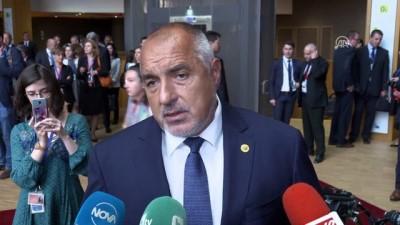 Avrupa Konseyi Zirvesi - Bulgaristan Başbakanı Borisov (1) - BRÜKSEL